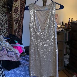 Tobi Sequin Dress